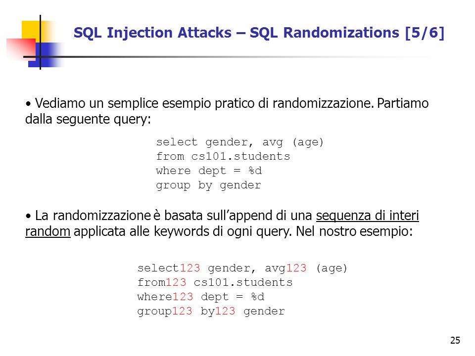 SQL Injection Attacks – SQL Randomizations [5/6]